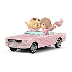 On the Road To a Cure Ford Precious Moments Figurine