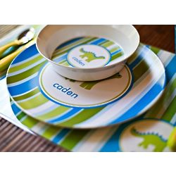 Personalized Kid's Plate and Bowl