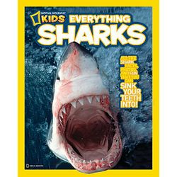 Kid's Everything Sharks Book