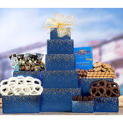 Chocolate and Truffle Gift Tower