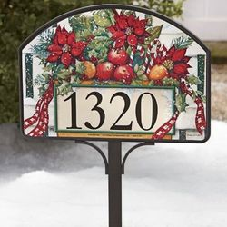 Holiday Gate Yard Sign with Stake