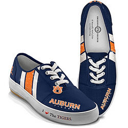 I Love the Auburn Tigers Women's Shoes