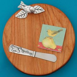 Little Bird Wooden Serving Board