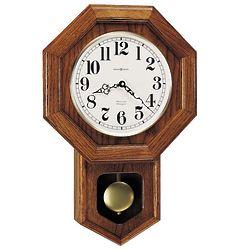 Katherine Oak Regulator Wall Clock