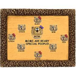Plaque Personalized for Mom from Children