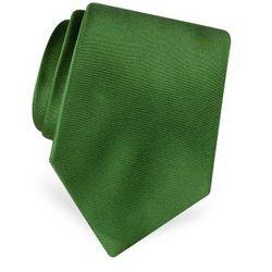 Solid Satin Silk Tie