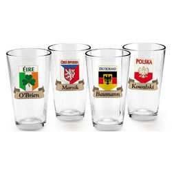 Germany Pint Glass Set