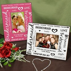 Printed Bridesmaid Frame