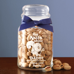 Personalized Nuts About You Jar
