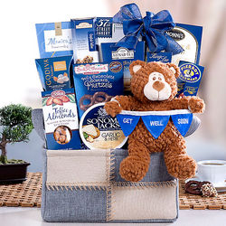Bear Hugs Get Well Basket