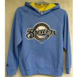 Milwaukee Brewers Youth Pullover Hoodie