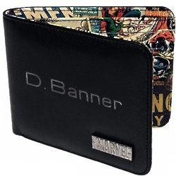 Inner Comic Book Print Wallet