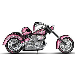 The Power of Pink Chopper Figurine