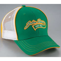 John Deere Applique Mesh Back Cap
