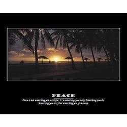 Peace I Personalized Art Print