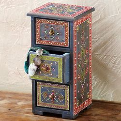 Akaltara Tall Jewelry Chest