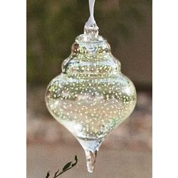 Shell-Shaped Wishing Ball Ornament