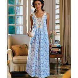 Floating Feather Cotton Gown