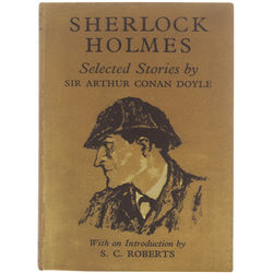 Vintage Sherlock Holmes Book Kindle Case