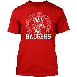 Men's Wisconsin Badgers Bucky Circle T-Shirt