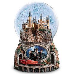Harry Potter Hogwarts Express Musical Glitter Globe