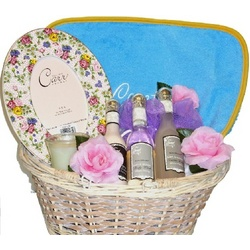 A Luxury Obsession Gift Basket