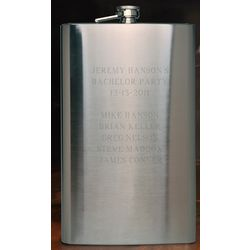 Personalized 64 Ounce Big Sipper Flask