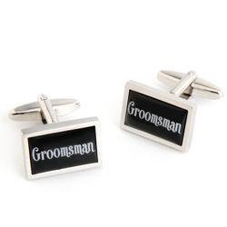 Dashing Groomsman Cufflinks