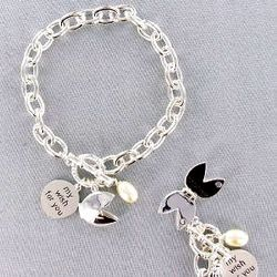 Fortune Cookie Wishes Bracelet
