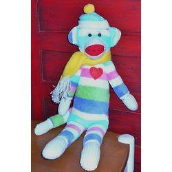 Periwinkle the Sock Monkey
