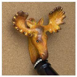 Moose Cast Iron Bottle Opener