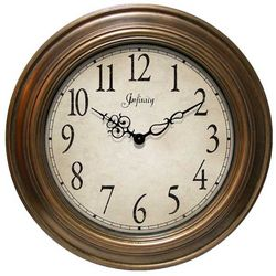 Atheneum Copper Wall Clock
