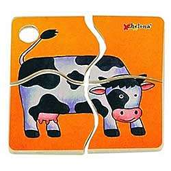 Cow Mini Discovery Puzzle
