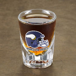 Personalized NFL Shot Glasses