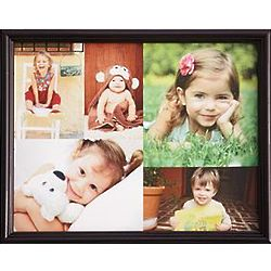 Personalized Framed Color Photo Collage Canvas