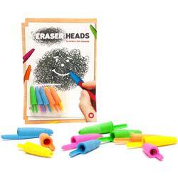 Neon Eraser Heads