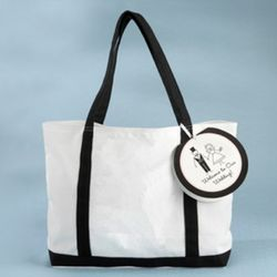 Welcome to Our Wedding Canvas Tote Bag