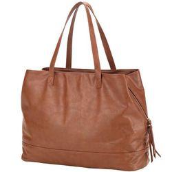 Camel Cambridge Vegan Leather Travel Bag