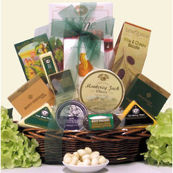Classic Gourmet Cheese Gift Basket