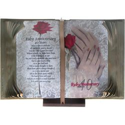 A Ruby Wedding - 40 Years Book of Love