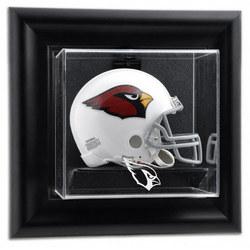Framed Wall Mounted Mini Helmet Display Case