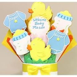 It's a Boy Cookie Bouquet