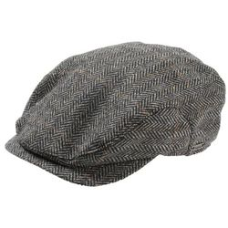 "Jacob Signature Wool ""Longshoreman"" Herringbone Hat"