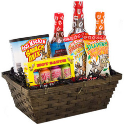 A*s Kicking Hot Sauce A*s Gift Basket