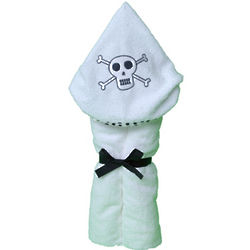Pirate Skull & Bones Hooded Towel