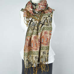 House of the Holy Tapestry Scarf
