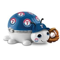 Texas Rangers Love Bug Porcelain Music Box