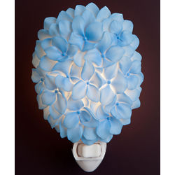 Blue Hydrangea Night Light
