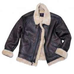 Alpha Brown Sherpa Flyer's Jacket