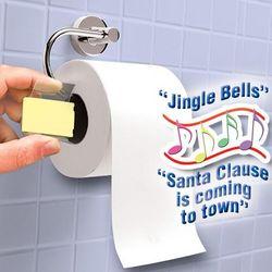Singing Toilet Paper Holder
